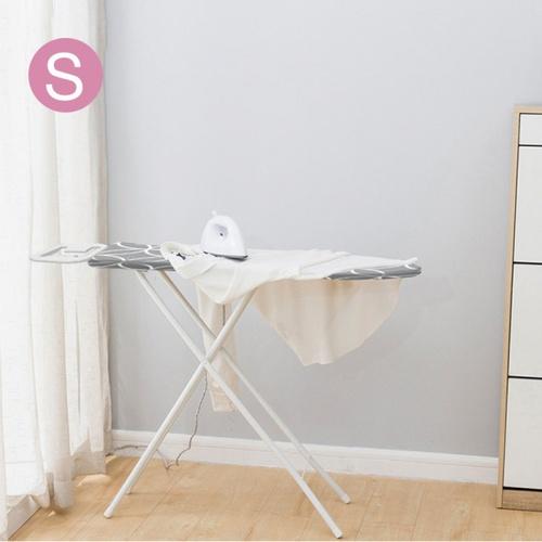 SAKU โต๊ะรีดผ้าโครงเหล็ก ขนาด 30x90x48-78 ซม.(12×36นิ้ว) คละสี ปรับความสูงได้ 6 ระดับ 3612HTW