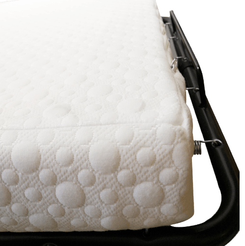 Truffle เตียงเสริมพับได้ พร้อมเบาะรองนอน มีล้อ 79x190x35.5ซม.  AF-Z05 สีดำ