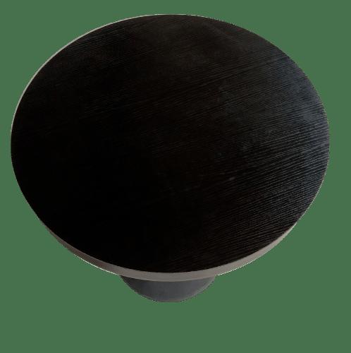 Pulito โต๊ะกาแฟ ขนาด 60×60×75cm. SQ004 สีดำ