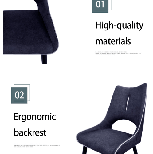 Pulito เก้าอี้ ขนาด 59.2×48×91cm. SQ007  สีน้ำเงิน