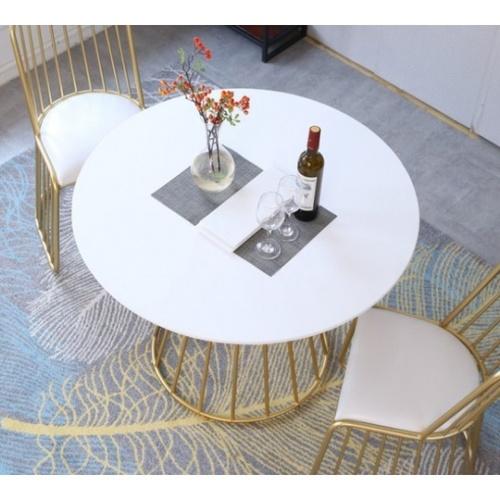 Pulito โต๊ะกาแฟ ขนาด 60×60×61cm. SQ011 สีขาว