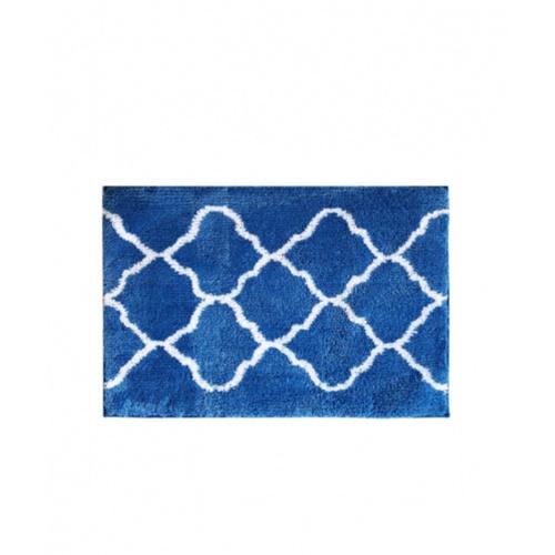 COZY พรมเช็ดเท้า ขนาด 50×80×1.5ซม.  DK23 สีน้ำเงิน