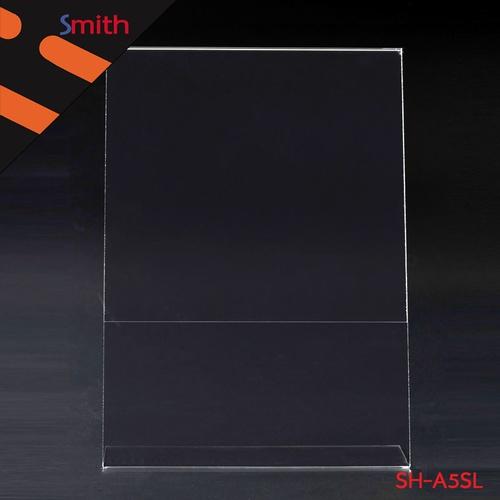 SMITH ป้ายอะคริลิค A5 L-Shape แนวตั้ง ขนาด 15x21cm SH-A5SL