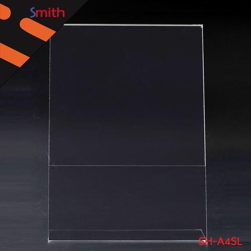 SMITH ป้ายอะคริลิค A4 T-Shape แนวตั้ง ขนาด 21x30x9cm SH-A4SL