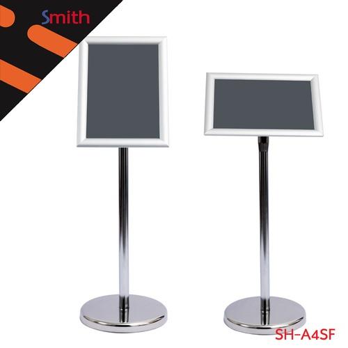 SMITH บอร์ดเสียบกระดาษขนาด A4 (ฐาน25cm) ปรับระดับได้ 70-120 cm. SH-A4SF