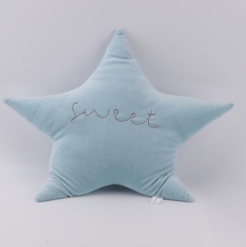 COZY หมอนอิงรูปดาว  ขนาด 50x58 ซม.  สีฟ้า