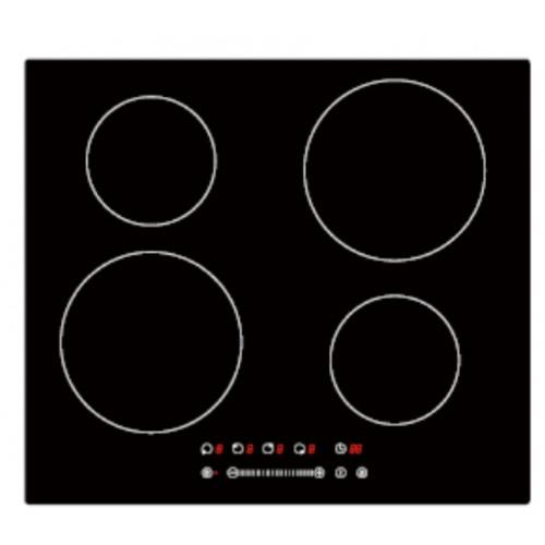 Koch Kitchen เตาไฟฟ้าอินดักชั่นแบบฝัง 4 หัวเตา 60ซม.  XH-422 สีดำ