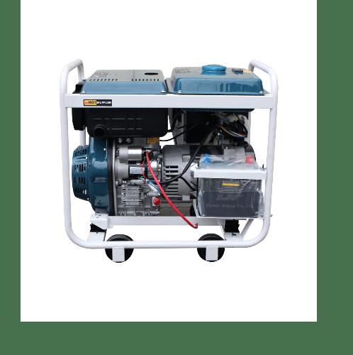 BISON เครื่องปั่นไฟดีเซล (พร้อมเชื่อม) 5.0 กิโลวัตต์   DGB-6500CXE-W