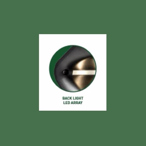 LUCECO โคมไฟผนังโซลาร์เซลล์ LEXS65B65-GH