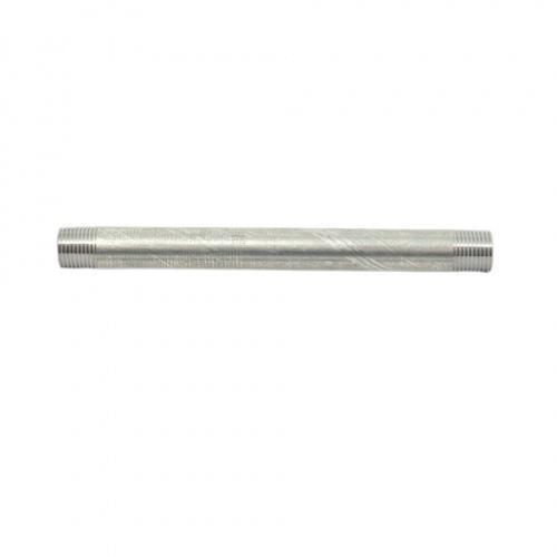 VAVO ท่อประปาสำเร็จ  1/2นิ้ว ×20 ซม. สีโครเมี่ยม