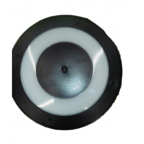 LUCECO ไฟ LED ผนังโซล่าร์เซลล์ 3W  LEXSDW30G6C-GH สีดำ