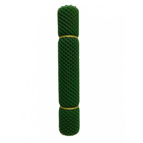 POLLO ตาข่ายพลาสติก หกเหลี่ยม 25มม.90ซมx10 เมตร.  LXPN09020G สีเขียว