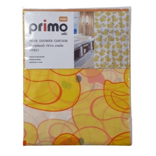 PRIMO ผ้าม่านห้องน้ำ PEVA ลายเป็ด ขนาด 180*180ซม. DF021