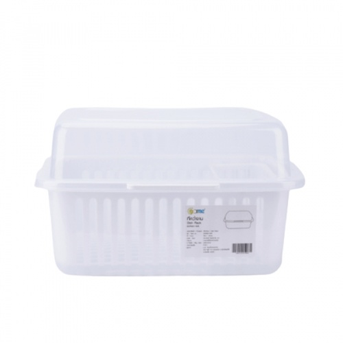 GOME ที่คว่ำจาน 29.50x37.50x22.50 ซม EDR001-WH สีขาว