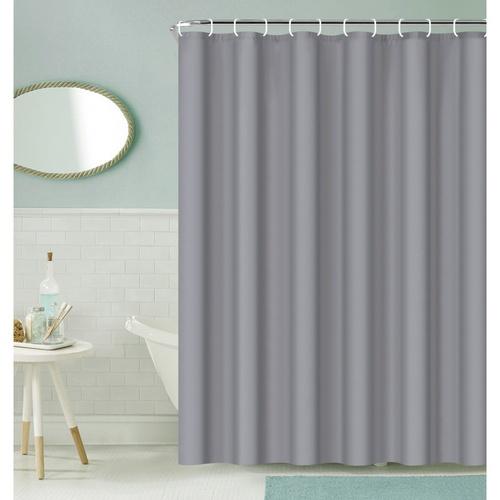 Primo ผ้าม่านห้องน้ำ PEVA ขนาด 180x180 ซม.  EDJJ08-GY สีเทา