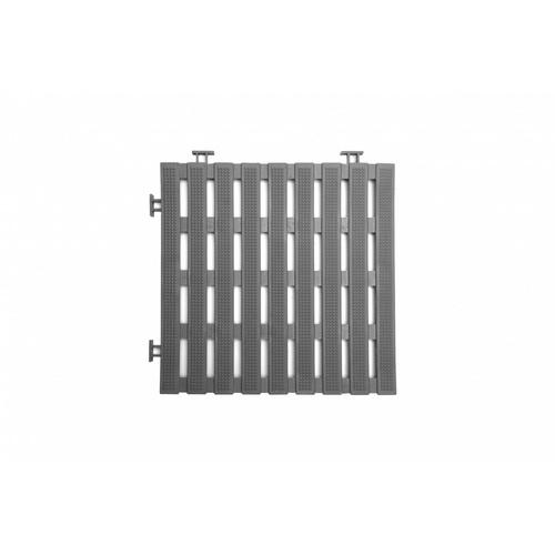 Primo แผ่นกันลื่น PVC  ขนาด 30×30 ซม. (4แผ่น/แพ็ค) Flat BYF002-GY