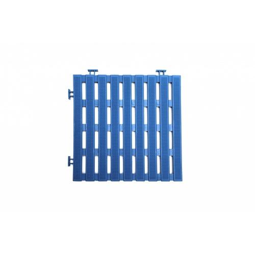 Primo แผ่นกันลื่น PVC  ขนาด 30×30 ซม.  (4แผ่น/แพ็ค) Flat BYF002-BU