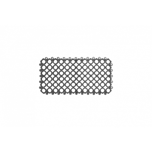Primo แผ่นกันลื่น PVC ขนาด 30×15 ซม. (12แผ่น/แพ็ค) Ring BYF004-GY