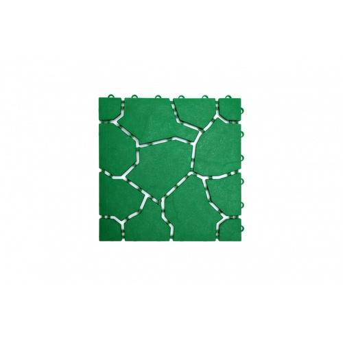 Primo แผ่นกันลื่น PVC  ขนาด 30×30 ซม.  (4แผ่น/แพ็ค) Mountain BYF001-GN สีเขียว