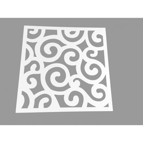 Lisse แผ่นพลาสวูดฉลุลาย ขนาด60*60*0.6 รุ่นHY-004 HY-004
