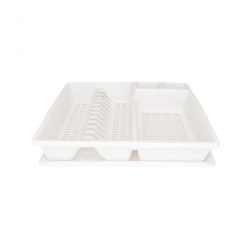 GOME  ที่คว่ำจาน ขนาด 37.5x45x9ซม.  Pro Kitch05 สีขาว