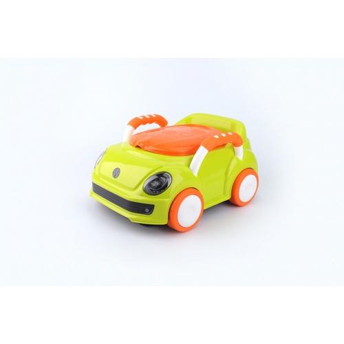 Primo Kids กระโถนนั่งเด็กรูปรถ  2DCY050 สีเขียว