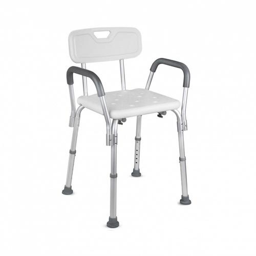 VERNO เก้าอี้อาบน้ำ มีพนักพิงและที่วางแขน  ขนาด 50x40   6KM004