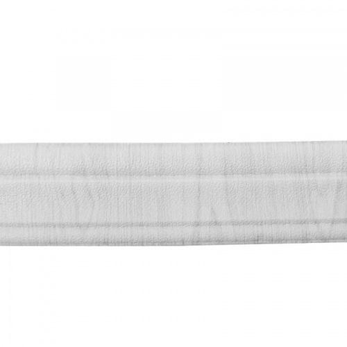 TAPIO สติ้กเกอร์ขอบบัวโฟม 3D ติดผนัง ขนาด 8x230x0.8cm  BMR012 สีขาว