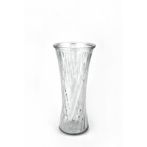 COZY แจกันแก้ว ขนาด 14x30 ซม. Sandy002 สีใส