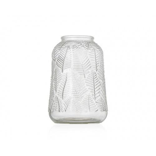 COZY แจกันแก้ว ขนาด 12.8x18.8 ซม. Degen-W สีใส