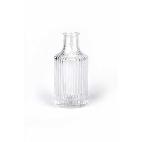 COZY แจกันแก้ว ขนาด 6x13 ซม. Renita001 สีใส