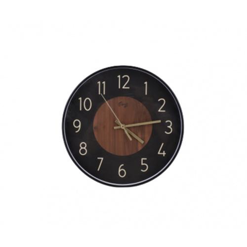 COZY นาฬิกาแขวนผนัง 30 ซม. 2DY-001 สีดำ