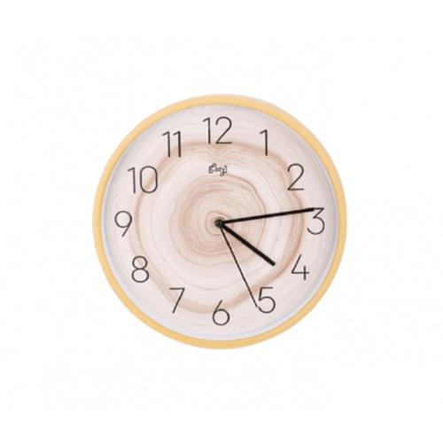 COZY นาฬิกาแขวนผนัง 30 ซม. 2DY-002 ลายไม้