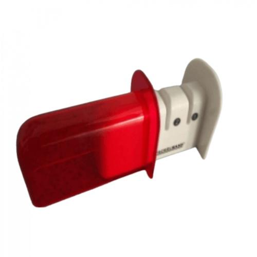 GOME ที่ลับมีด ZDS005-RD ขนาด 6.2 x 11.5 x 7.6 cm สีขาว-แดง สีแดง