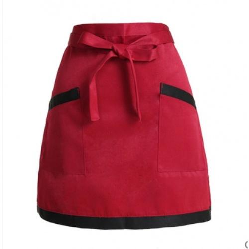 KATELL ผ้ากันเปื้อนครึ่งตัว  XFX040   สีแดง