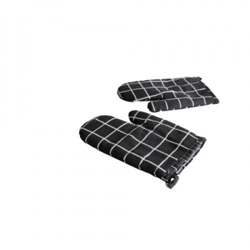 KATELL ถุงมือกันร้อน ลายตาราง  XFX 058 สีดำ
