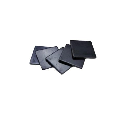 GLOBAL เหล็กแผ่นเหลี่ยมขนาด 2x2 นิ้ว หนา 2 มม. (5ชิ้น/ห่อ) สีดำ