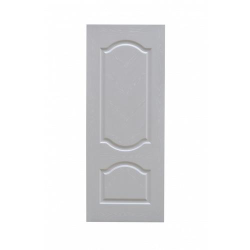 HOLZTUR ประตูปิดผิวเมลามีน 2ฟักโค้ง ขนาด 80x200cm. สีโอ๊คขาว   MD-F01