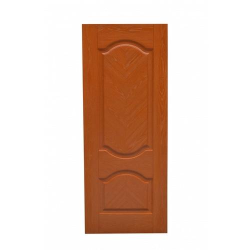 HOLZTUR ประตูปิดผิวเมลามีน 2ฟักโค้ง ขนาด  80x200cm. สีโอ๊คแดง  MD-F09
