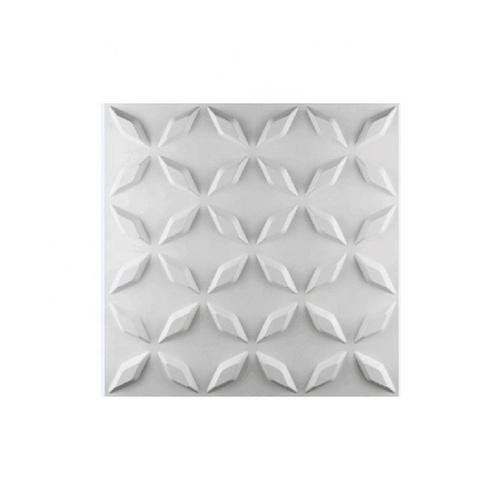 TAPIO วอลเปเปอร์ พีวีซี 3D ขนาด 50x50cm. PQS-RZ063    สีขาว