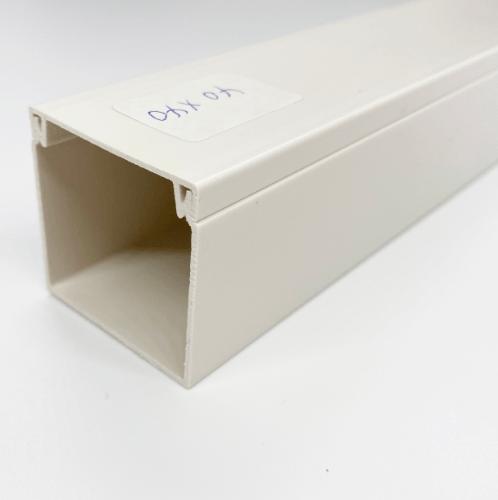 V.E.G. รางวายเวย์พลาสติก  A-4040-2MW สีขาว