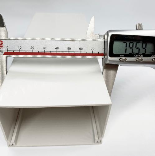 V.E.G รางวายเวย์พลาสติก VEG/A8050-2MW สีขาว