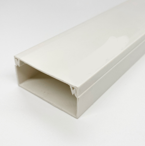 EAGLE รางทรังกิ้ง 39x19มม  ยาว1เมตร  - สีขาว