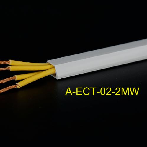 V.E.G รางร้อยสายโทรศัพท์(พร้อมเทปกาว) รุ่น A-ECT-02-0 MWT สีขาว 2 เมตร A-ECT-02-2MWT สีขาว