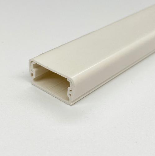 V.E.G. รางเก็บสายไฟ PVC แบบทึบ 20x10 มม. ยาว 2 เมตร MMT-20-2MW สีขาว