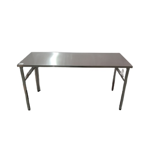 Sane โต๊ะพับอเนกประสงค์สเตนเลส  ขนาด 60x150x75 cm. PQS-A003
