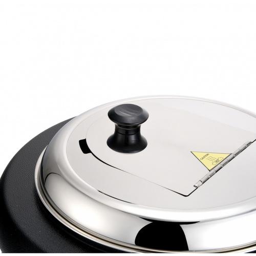 Merga หม้ออุ่นซุปไฟฟ้า 13ลิตร Jupiter Soup pot 01 – 13L สีดำ
