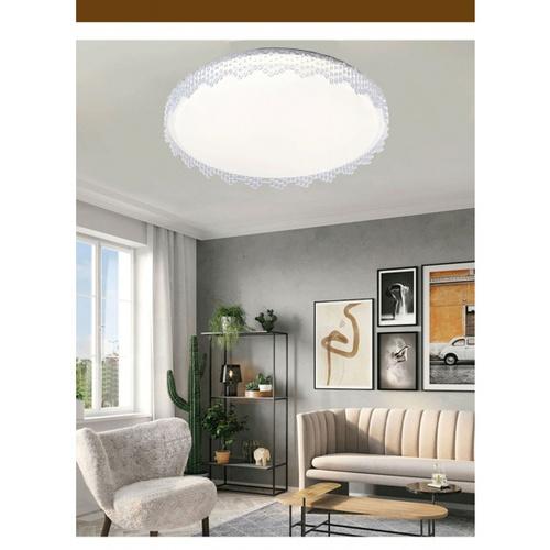 EILON โคมไฟเพดาน LED ปรับแสงได้  ขนาด 36W   Venie-500  (พร้อมรีโมท) สีขาว