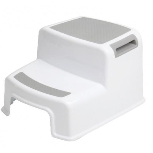 SAKU เก้าอี้สตูล 2 ชั้น  สีขาว-เทา TG59339