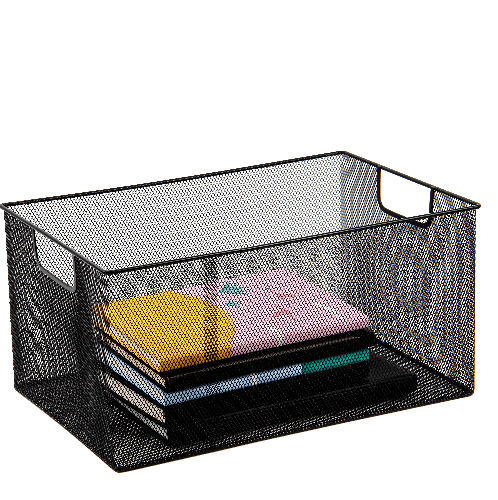 SMITH กล่องเหล็ก ไซส์ S ขนาด 31x20x15ซม.  TG59217  สีดำ